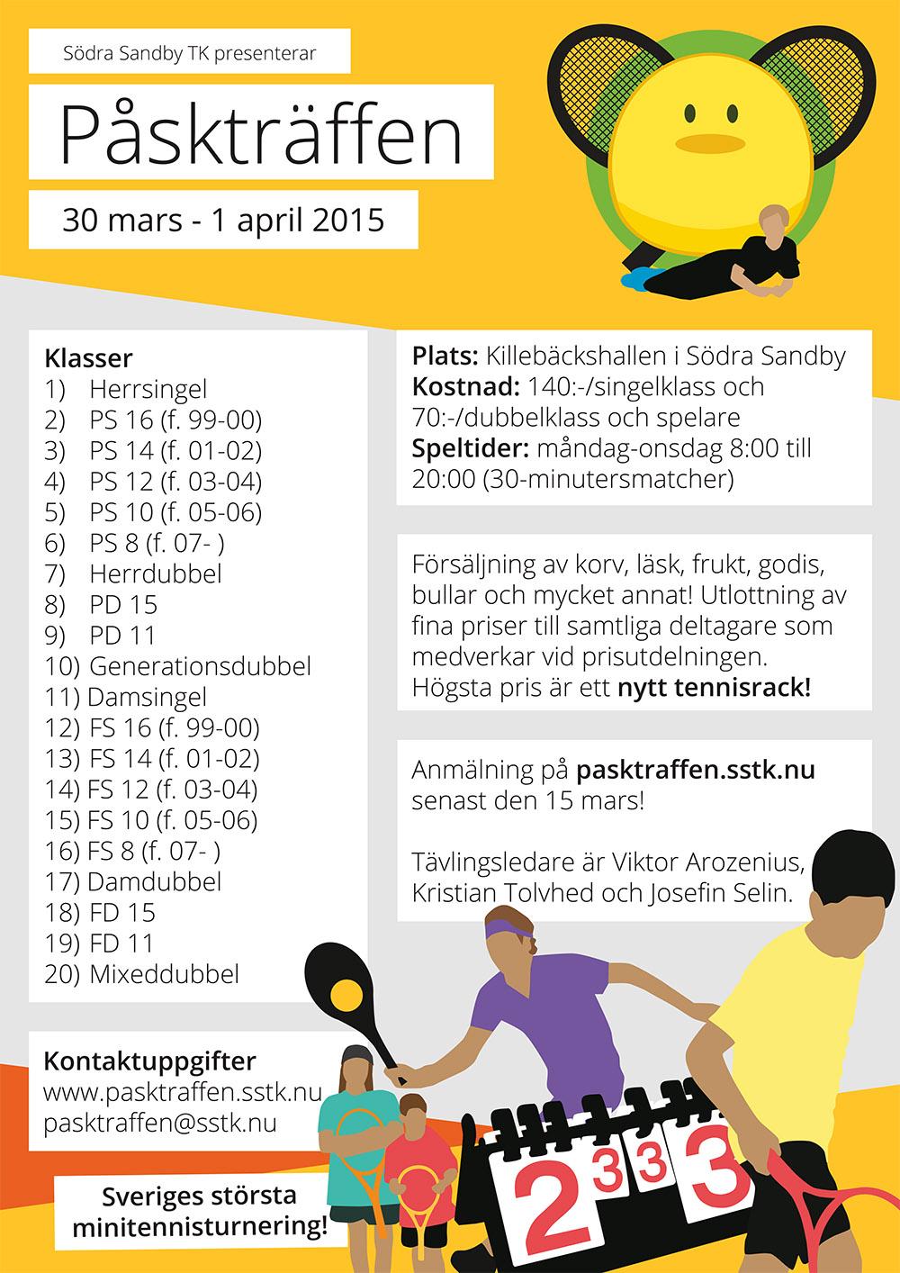 Anmäl dig till Påskträffen 2015